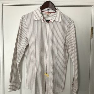 Brooks Brothers Red Fleece line Button Down Shirt